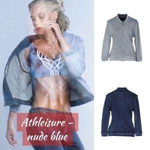 🆕 Chic Denim Jean Stretch Jacket NWT