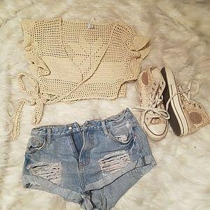 SOMEDAYS LOVIN jean shorts