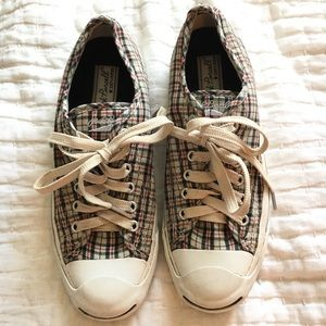 Plaid jack Purcell converse