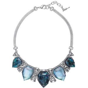 NWT Northern Lights Statement Necklace