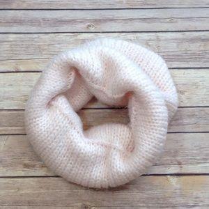 Loft popover shimmer rose infinity scarf