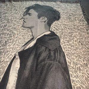 Justin Bieber Purpose Tour Throw Blanket