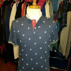 AMERICAN EAGLE OUTFITTERS SLIM FIT POLO