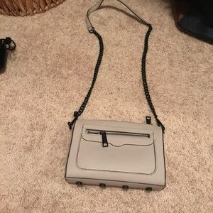 Minkoff lavender and black cross body