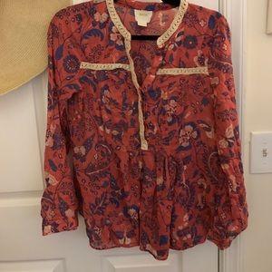 Maeve cotton blouse - size 6