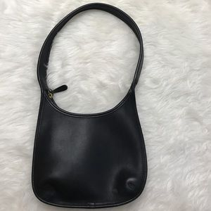 Coach Leather Hand Bag Vintage Small