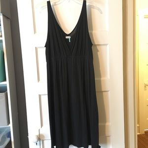 Black v-neck Sundress
