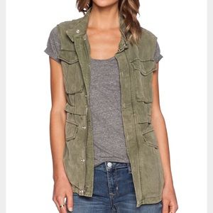 Sanctuary Courier Drawstring Vest