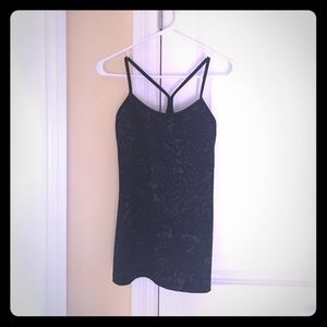 Lululemon Power Y tank constellation