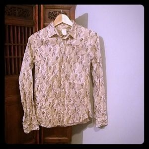 JCREW The Perfect Shirt in Paisley