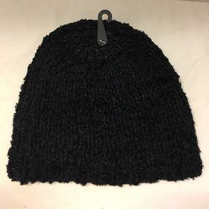 Liz Claiborne soft knit beanie hat one size