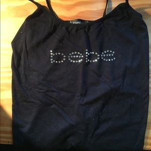 Bebe tank top! Size small