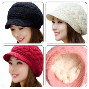 Wool Cozy Skully Caps