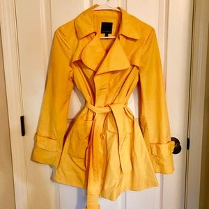 the Limited yellow rain jacket s