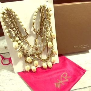SILPADA multi-strand mixed necklace NEVER WORN