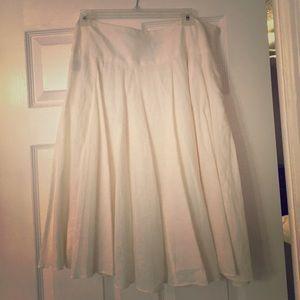 Ralph Lauren Off White Skirt
