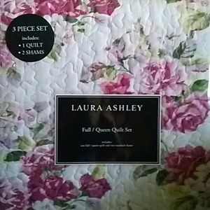 Laura Ashley Quilt Sham Set Lidia