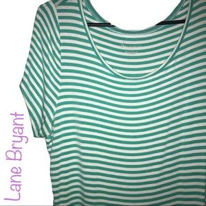 Lane Bryant Stripped Tee