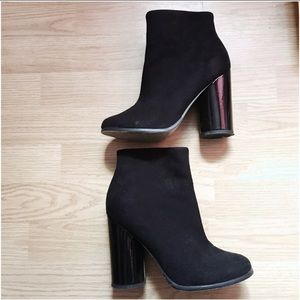 ASOS Black Booties