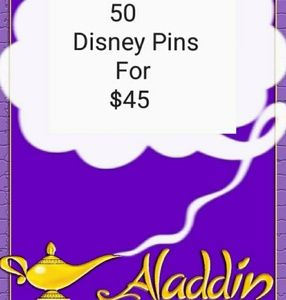 Lot Sale 50 Assorted Disney Pins