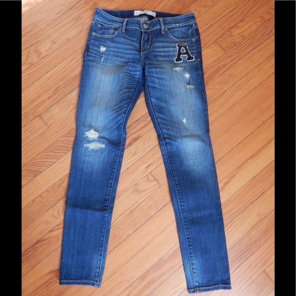 Abercrombie & Fitch Jeans - Abercrombie & Fitch Distressed Skinny Jeans Sz 4
