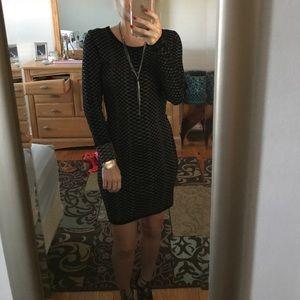 Black sweater dress 💃🏻