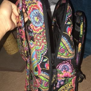 Vera Bradley back pack w/ laptop holder