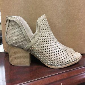 Peep toe boots! Brand new!