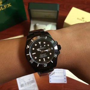 Black Rolex submariner