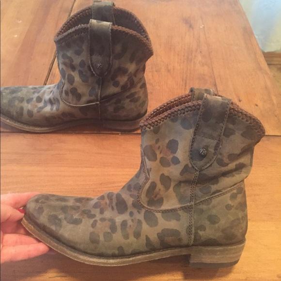 liberty black cheetah boots