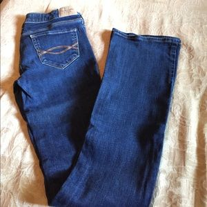 Abercrombie and Fitch stretch jeans 0R