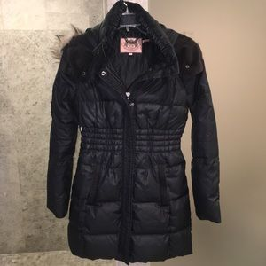 Juicy Couture Long Down Jacket