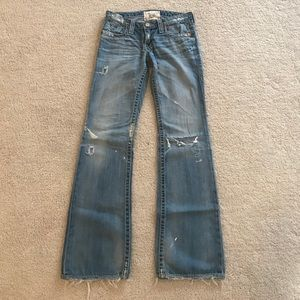 Big Star Liv destroyed jeans size 27
