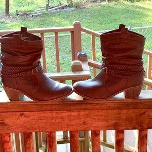 Lane Bryant boots SZ 9 got last winter/wore once.