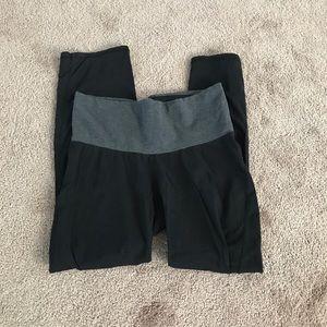 Maternity Black Yoga Pants