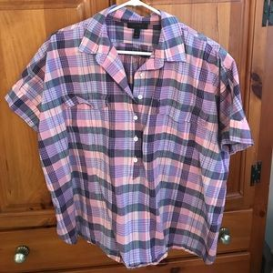 J. Crew courier style popover top