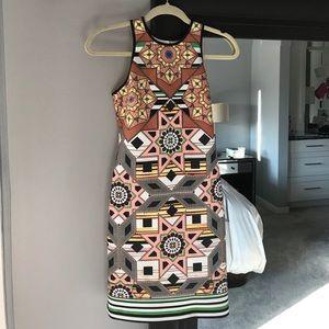Clover Canyon multicolor neoprene dress sz S
