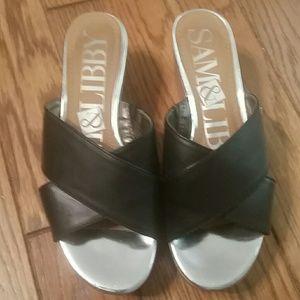 Black Sam & Libby sandals