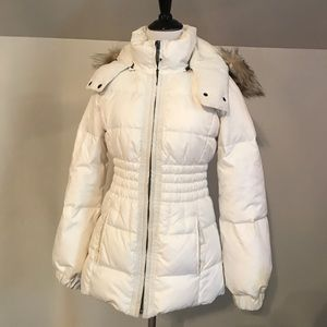 Juicy Couture White Winter Coat