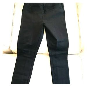 Now discontinued J. Crew black maternity pants!