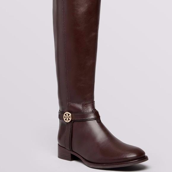 d5b009c47948 Tory Burch Shoes - Tory Burch Tall Flat Riding Boots - Bristol