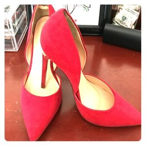 Red stiletto size 8 brand new from Just Fab