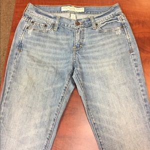 Classic Abercrombie & Fitch boot cut jeans