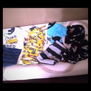 Carters Boy PJ Bundle