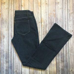 Ann Taylor Dark Rinse Jeans 4