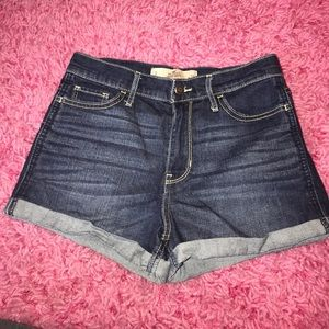 Hollister High-Rise jean short shorts Size 3