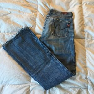 Citizens of humanity bootcut jeans 25