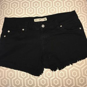 Just USA Black label jean shorts