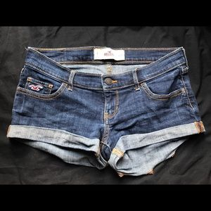 Hollister Rolled Shorts