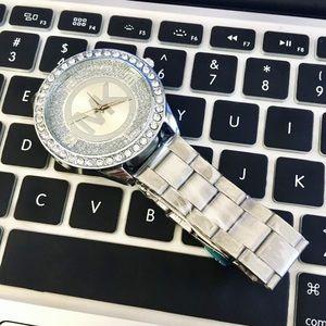 Michael Kors MK Watch Silver Women Designer
